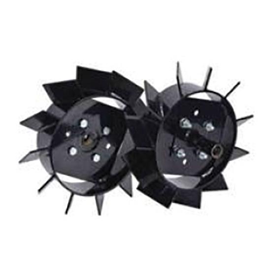 Слика на Метални тркала за култиватор