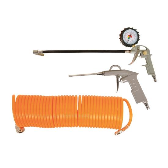 Слика на Пневматски сет (пиштол, дувалка, црево)
