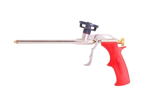 Слика на Пиштол за пур-пена ECO метален, црвен