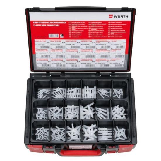 Слика на Сет пластични конектори, 3-6mm, 150 парч.