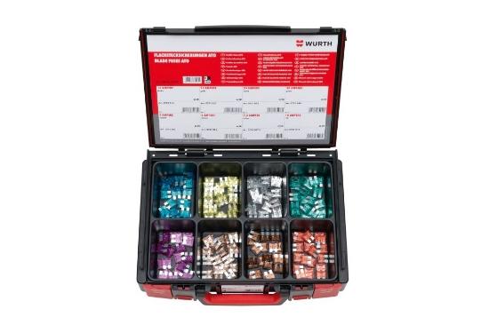 Слика на SYSKO - Сет насадни осигурувачи во куфер 160 парч.