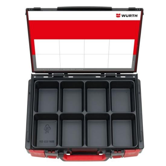 Слика на SYSKO 4.4.1 куфер, 8 прегради