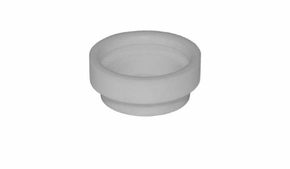 Слика на Бел керамички прстен за изолација