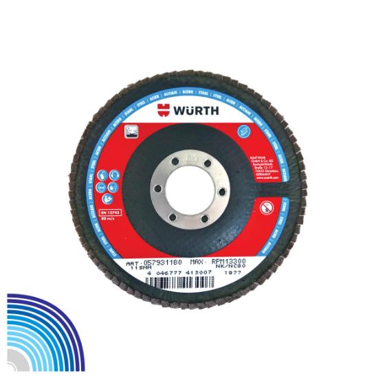 Слика на Ламеларен брусен диск за челик Premium, Al конусен
