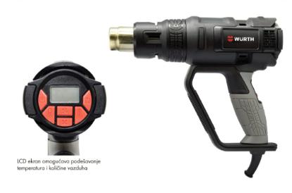 Слика на Електричен индустриски фен HLG2000P LCD