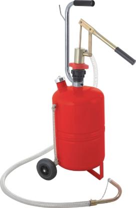 Слика на Рачна пумпа за масла со резервоар