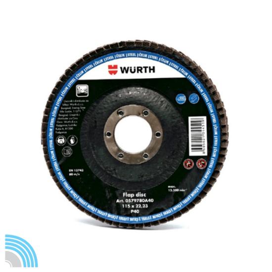 Слика на Ламеларен брусен диск Basic, инокс