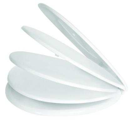 Слика на WC даска KLIK FIX, дуропласт, бела боја
