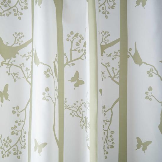 Слика на Завеса за WC, 180x200cm, полиестер, BIRD