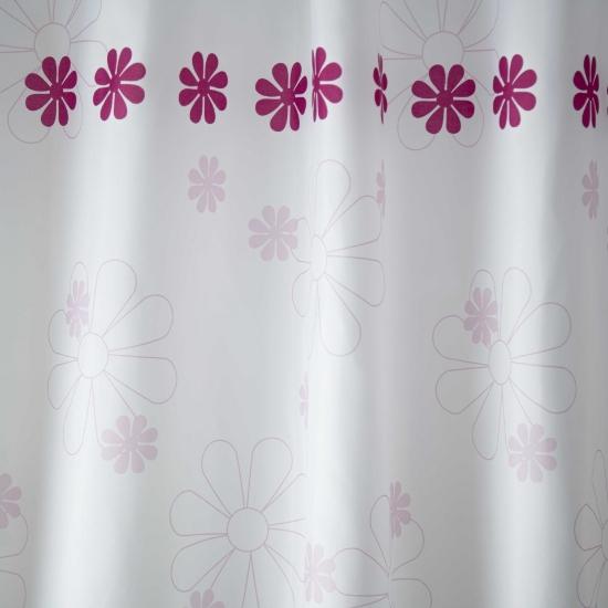 Слика на Завеса за WC, 180x200cm, полиестер, FLOWER